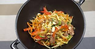 comment cuisiner au wok wok de boeuf aux légumes ma p tite cuisine