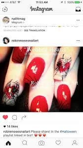 146 best fall halloween nails images on pinterest halloween
