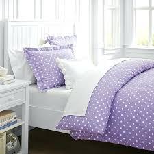 Purple Ruffle Comforter Purple Polka Dot Comforter Sets Free Shipping Ruffled Floral Polka