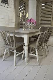 chic kitchen shabby chic kitchen chairs ivory tufted faux leather dining chairs