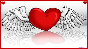 how to draw a heart with wings step by step tattoos pop culture