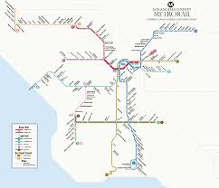 Metro Property Maps by A Visual Representation Of L A U0027s Rail Growth Under Measure M