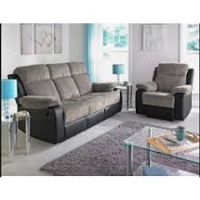 Fabric Recliner Sofa Bradley Fabric Recliner Corner Sofa Group Natural Furnico Village