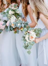 wedding bouquets cheap light blue wedding florals simple and beyond