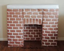 diy cardboard fireplace dact us