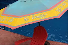Paint Patio Umbrella Patio Umbrella Outdoor Furniture Spray Paint Projects Krylon