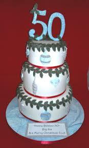 3 tiered 50th birthday cake nouveauxcakes
