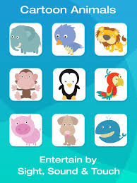 animal and tool flashcards for babies or toddlers on the app store