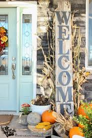How To Decorate Your Home For Fall Fall Porch Decorating Ideas Front Porches Porch And Small Porches