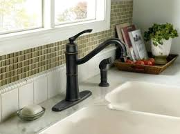rubbed bronze kitchen sink faucet bronze kitchen sink fitbooster me