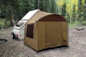 a frame trailer side tent aliner chalet rockwood jayco stafr