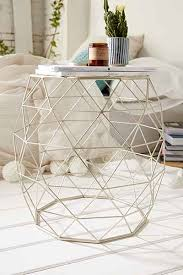 Accent Table Canada Geometric Metal Side Table Metal Side Table Metals And Apartments