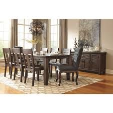 ashley furniture trudell rectangular dining room extension table