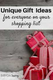 the ultimate list of gift buying ideas for everyone on your list