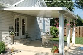 Side Awnings For Patios Windsor Patio Cover