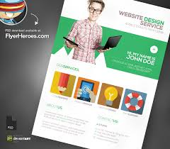 web design brochure template flyer design vectors photos and psd