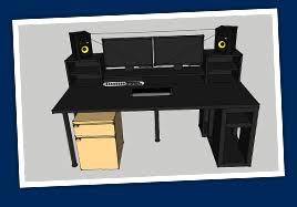 Music Production Desk Plans Ikea Music Production Desk