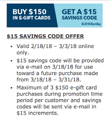 free e gift cards expired best buy gift cards get free 15 promo card with 150 e