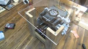 man cave coffee table vw beetle engine man cave coffee table youtube