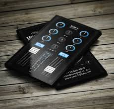 Business Card Music 31 Best Dj Business Cards Images On Pinterest Dj Business Cards