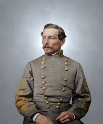 64 colorized confederate civil war generals images