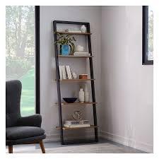 west elm white bookcase west elm ladder shelf leaning wall storage wide shelf white