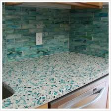 Glass Kitchen Countertops Bretagne Blue Vetrazzo Denver Shower Doors U0026 Denver Granite