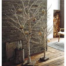 artificial birch trees with lights roost lighted birch artificial trees modish store