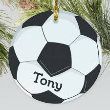 personalized soccer ornaments giftsforyounow