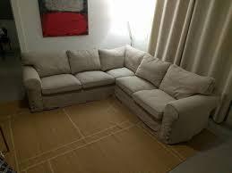 Ektorp Corner Sofa Bed by Ikea Sofa Ektorp Sectional 4 Seat Corner Light Beige For Sale In