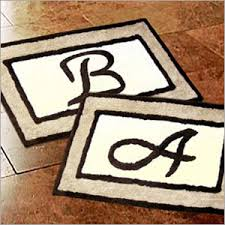 Frontgate Bath Rugs Monogrammed Rug Roselawnlutheran