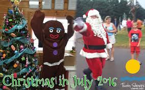 christmas in july 2016 twin shores camping area youtube