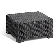 amazon com keter corfu coffee table modern all weather outdoor