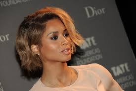 chin length hairstyles for ethnic hair check out ciara rocking a sexy chin length bob haircut the style