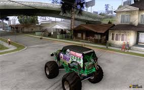 monster truck grave digger games grave digger for gta san andreas