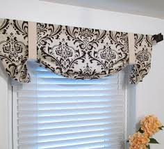 Tie Up Valance Curtains Top Tie Up Valance Design Idea And Decorations How To