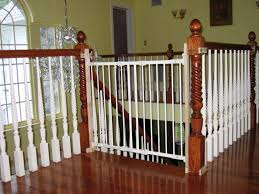 Baby Gates For Bottom Of Stairs With Banister Safety At Bottom Of Stairs Gate Ideas Furniture Safety At
