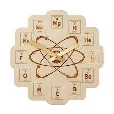 periodic table clock science clock uncommongoods