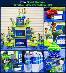 free dinosaur printable decoration pack gooddinoevent