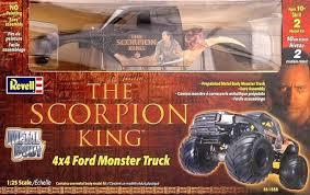 revell scorpion king ford monster truck model kit