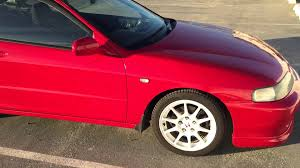 1998 Honda Civic Type R Specs Jdm Milano Red 1998 Spec Honda Integra Type R Jdm For Sale Titled