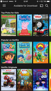 netflix downloads travelling kids easier