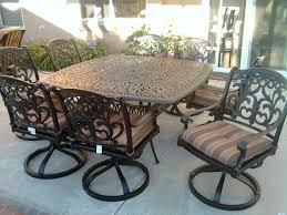 Best Cast Aluminum Patio Furniture - cool powder coated patio furniture cool home design interior