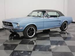 1967 blue mustang blue 1967 ford mustang for sale mcg marketplace