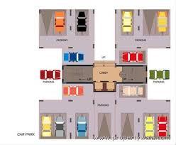 Auto Dealer Floor Plan Greenfield Heights New Town Rajarhat Kolkata Residential