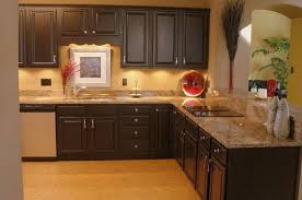 kitchen paint ideas with dark cabinets modern interior design
