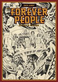 13 great pages from the jack kirby forever people artist u0027s edition