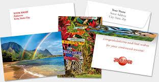 personalized greeting cards hawaiian island personalized blank greeting cards