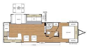 Salem Travel Trailers Floor Plans by 2018 Coachmen Catalina Legacy Edition 283rks Model
