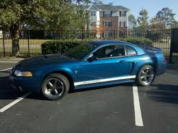 2000 blue mustang sonic v6 stang 2000 ford mustangcoupe 2d specs photos